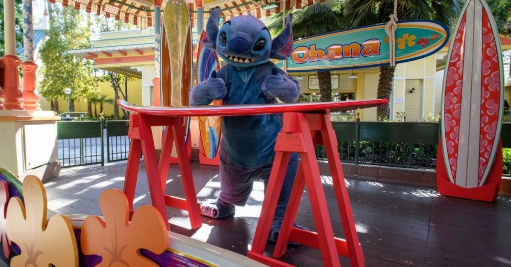 Stitch meet and great DCA